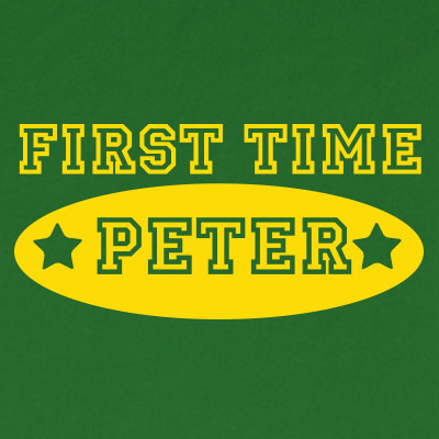 First time peter