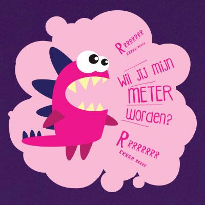 Wil jij mijn meter worden? (space)