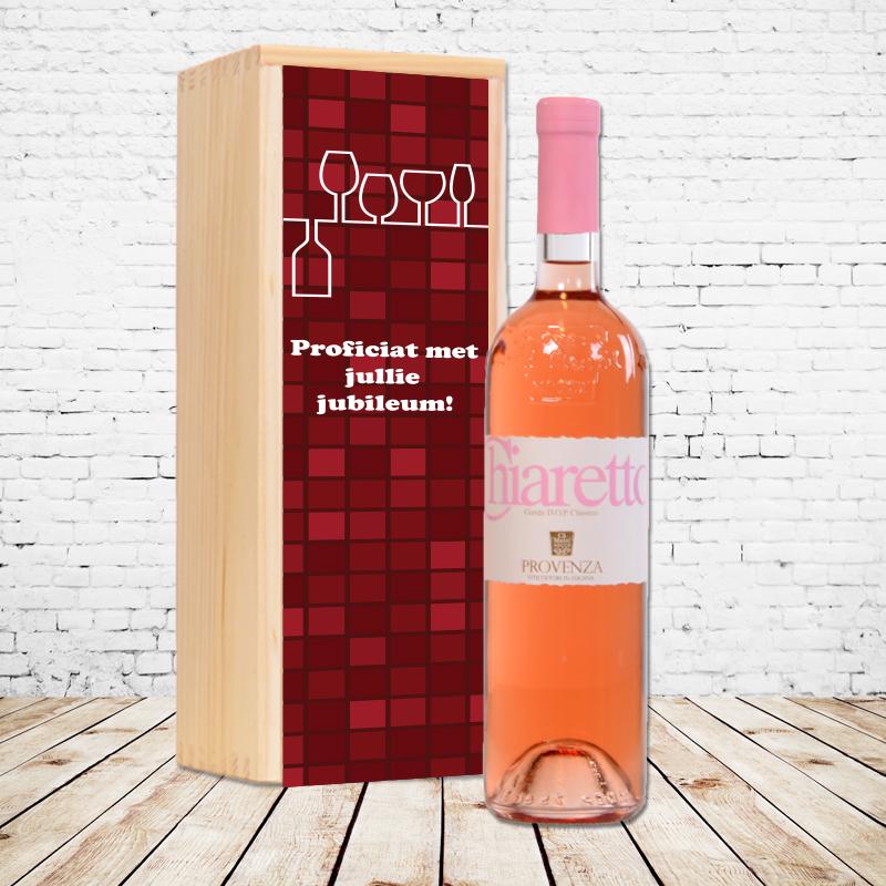 Gepersonaliseerd wijnpakket Chiaretto (rosé)