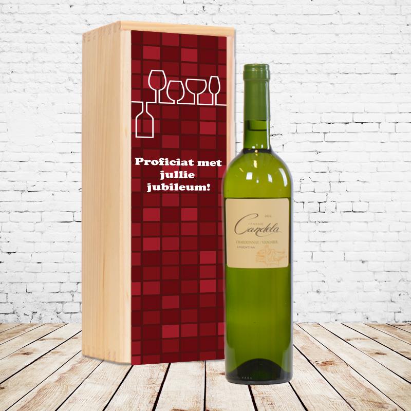 Gepersonaliseerd wijnpakket Candela Classic Chardonnay / Viognier