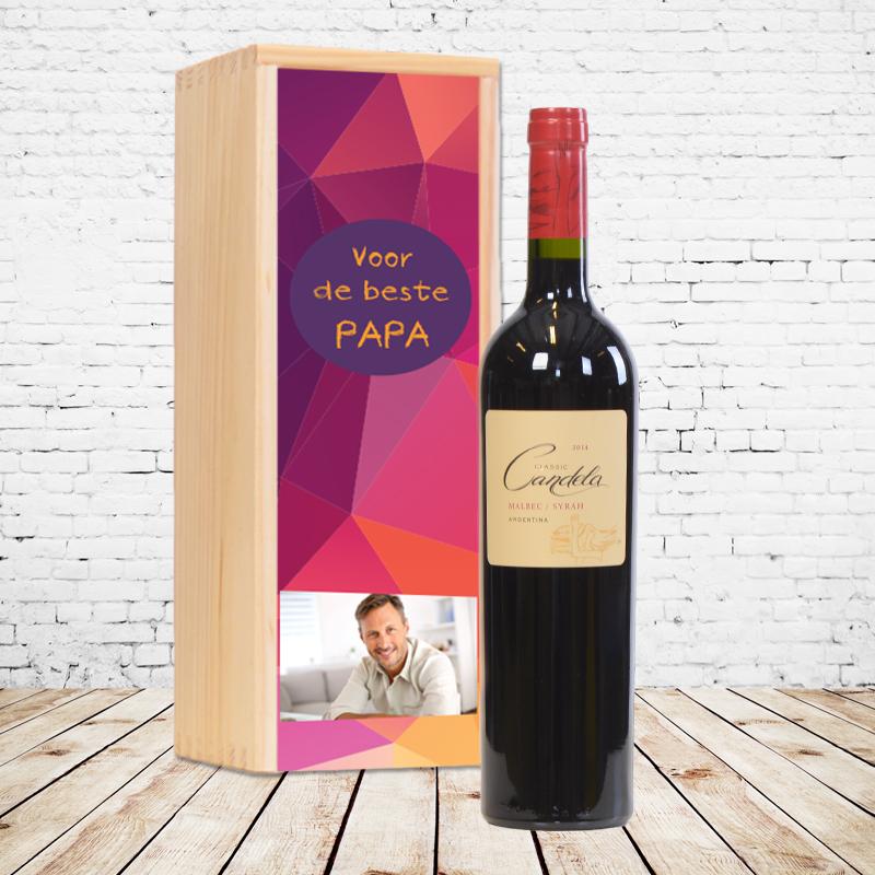 Gepersonaliseerd wijnpakket Candela Classic Malbec