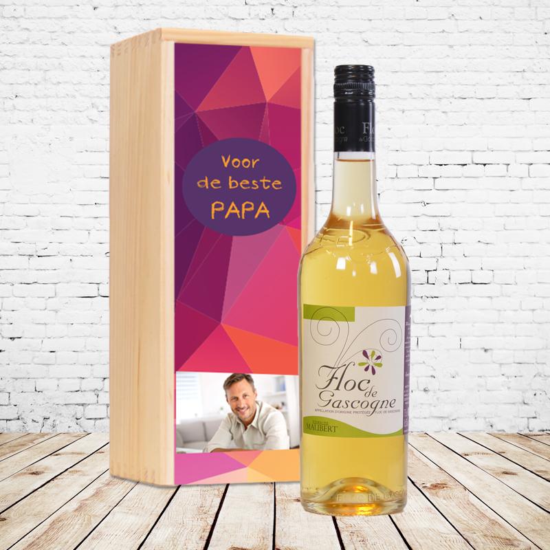 Gepersonaliseerd wijnpakket Floc de Gascogne (wit)