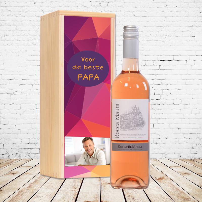 Gepersonaliseerd wijnpakket Rocca Maura (Rosé)