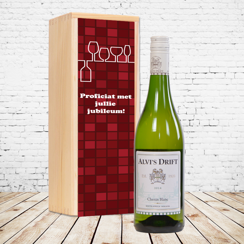 Gepersonaliseerd wijnpakket Alvi's Drift