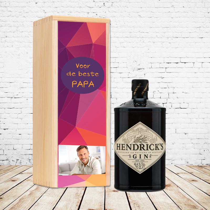 Gepersonaliseerd ginpakket Hendrick's Gin