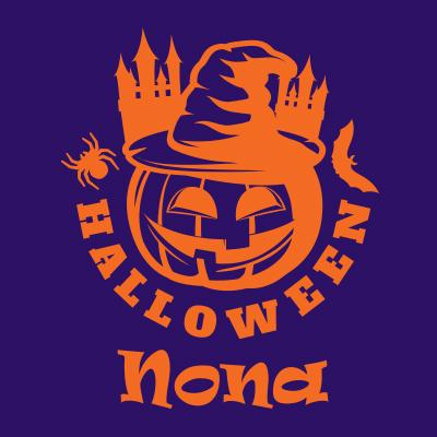 Halloween design Pompoen 4