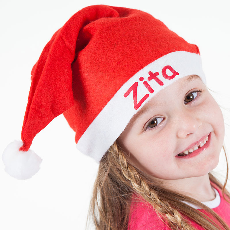 Christmas hat with name - kids