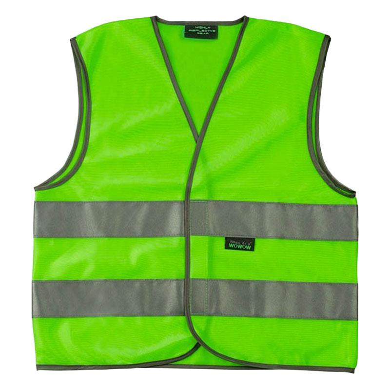 Fluo veiligheidshesje kids (Groen)