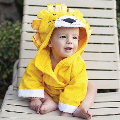 Badjas - Leeuw