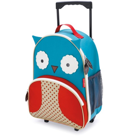 Valise trolley SkipHop - Hibou