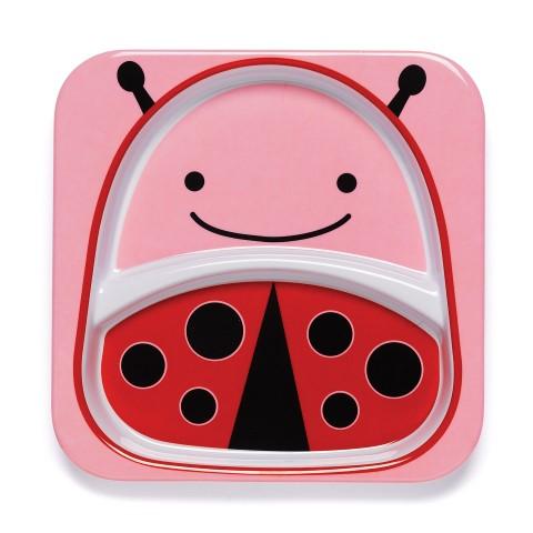 Zoo assiette - Ladybug