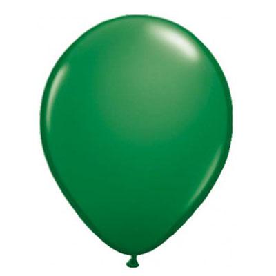 Set van 10 ballonnen - groen (30 cm)