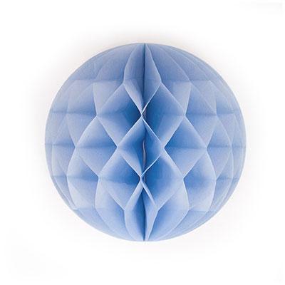 Honeycomb rond - lichtblauw 30 cm