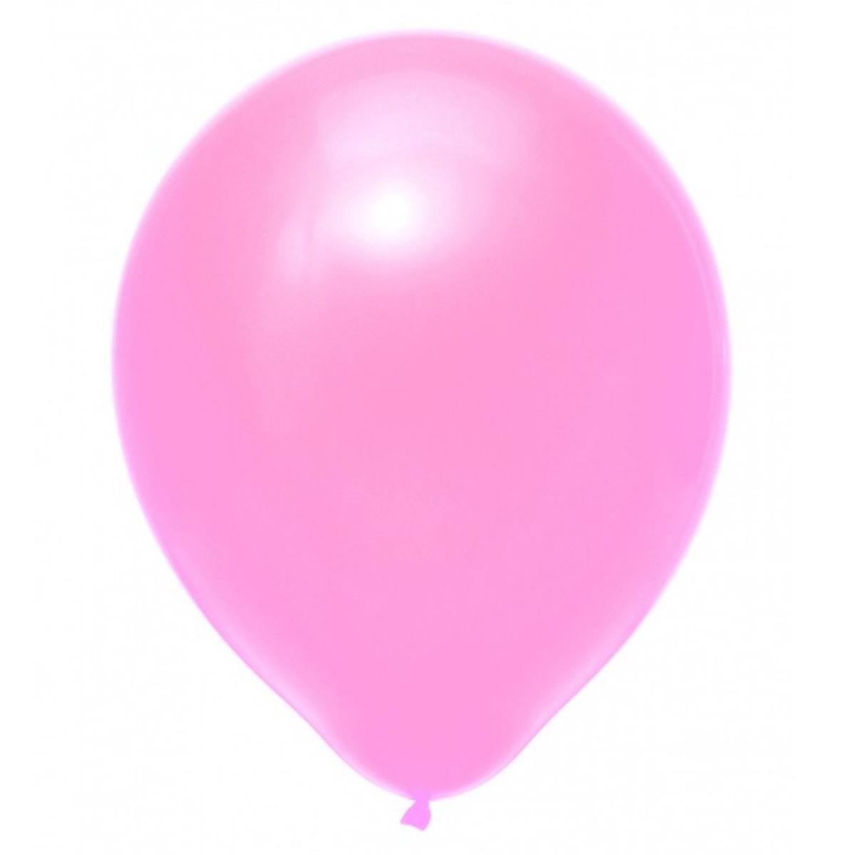 Set van 10 ballonnen - roze (30 cm)