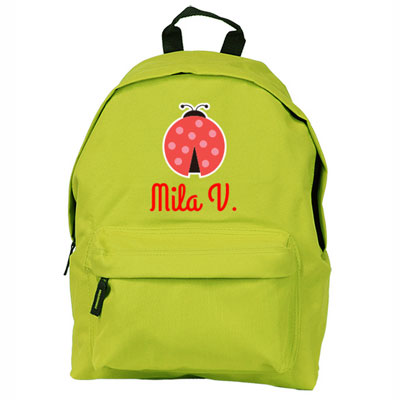 Junior Large backpack with name
