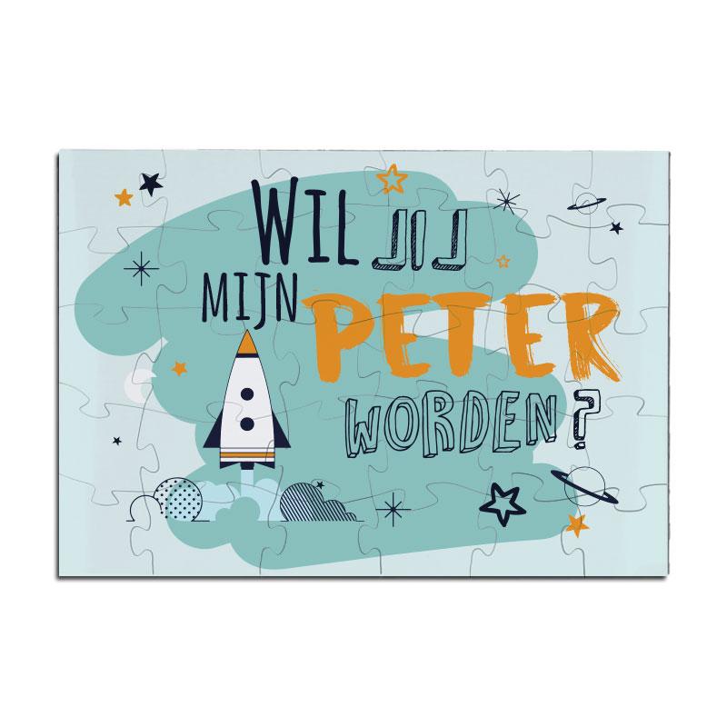 Puzzel - Peter - Raket