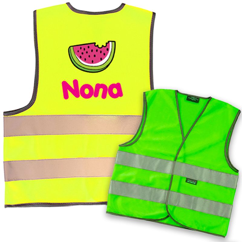 Fluo jacket kids