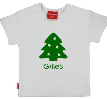 Kerstboom - Kerstshirt/slab met lange of korte mouwen