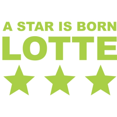 Birth sticker 'A star is born 1 ' M17