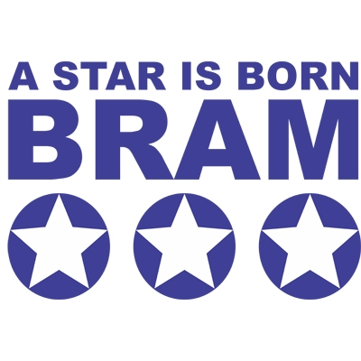 Birth sticker 'A star is born 2' M18