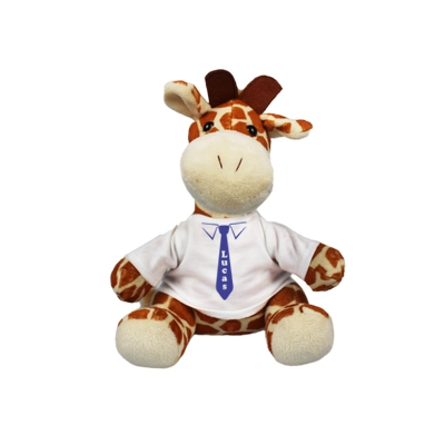 Cuddle toy with name - tie