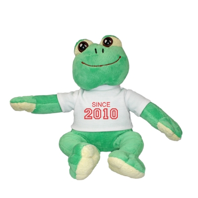 Cuddle toy with year of birth