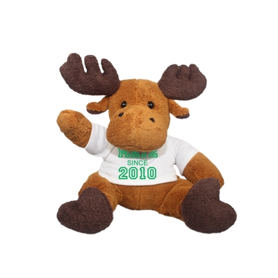 Cuddle toy with name and date of birth