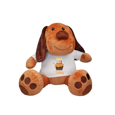 Cuddle toy with name - third birthday
