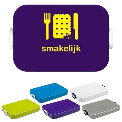 Mepal to go Lunchbox met naam, flat