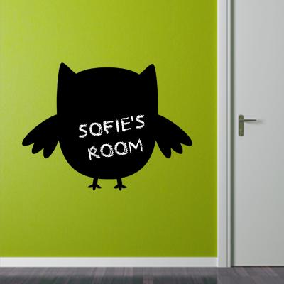 Chalck board owl