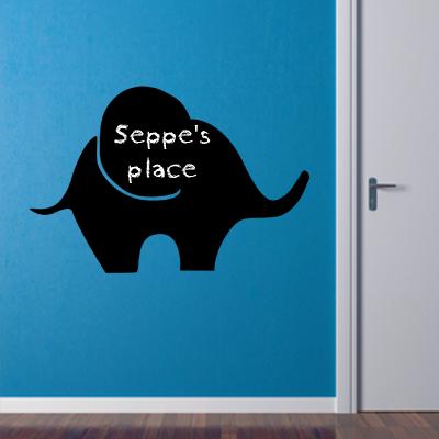Krijtbordsticker olifant