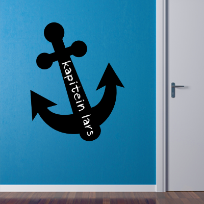 Chalck board sticker anchor