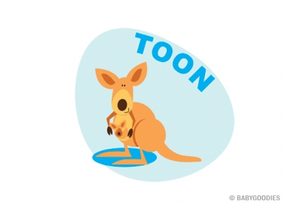 Wall sticker with name: Kangaroo