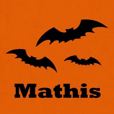 Halloween design vleermuis