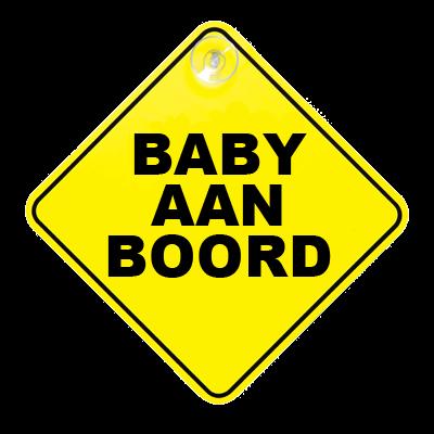 Baby aan boord bordje