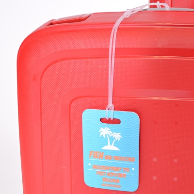 Gepersonaliseerde bagage tag