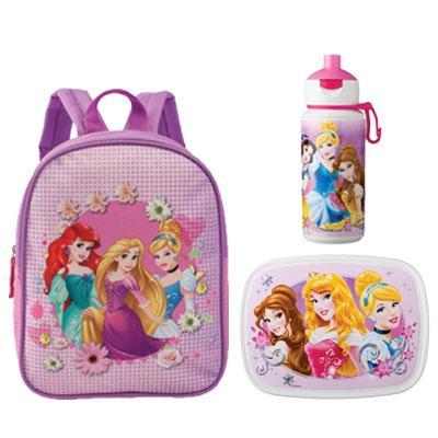 aa851d3dd7c Prinsessen Rugzak (klein), lunchbox (4 sneden) en popup   Babygoodies