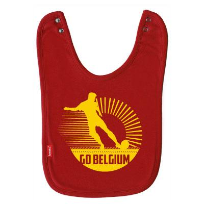 Slab rood 'Go Belgium'