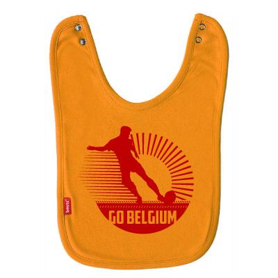 Slab geel 'Go Belgium'