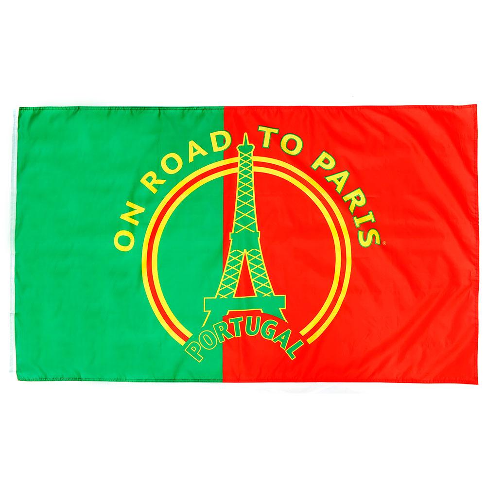 Vlag 'On road to Paris' Portugal