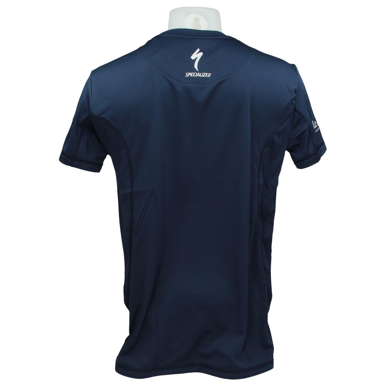 Tshirt navy 2017 achter