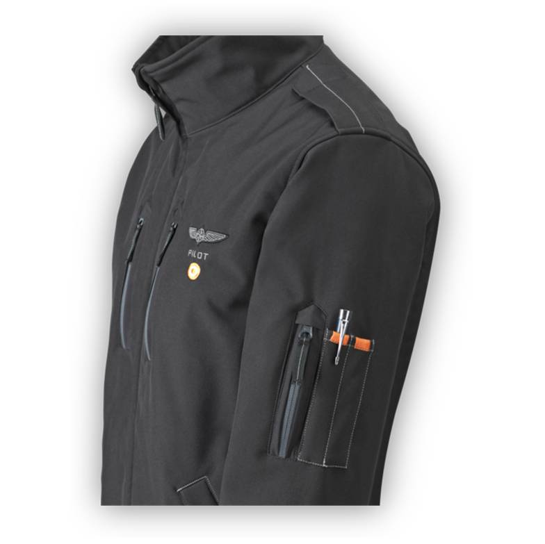 Pilot Jacket General Aviation side
