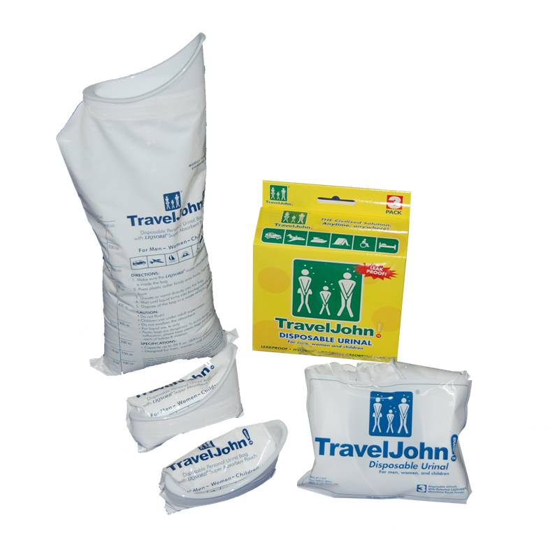 Travel John Disposable Urinal Bags 2