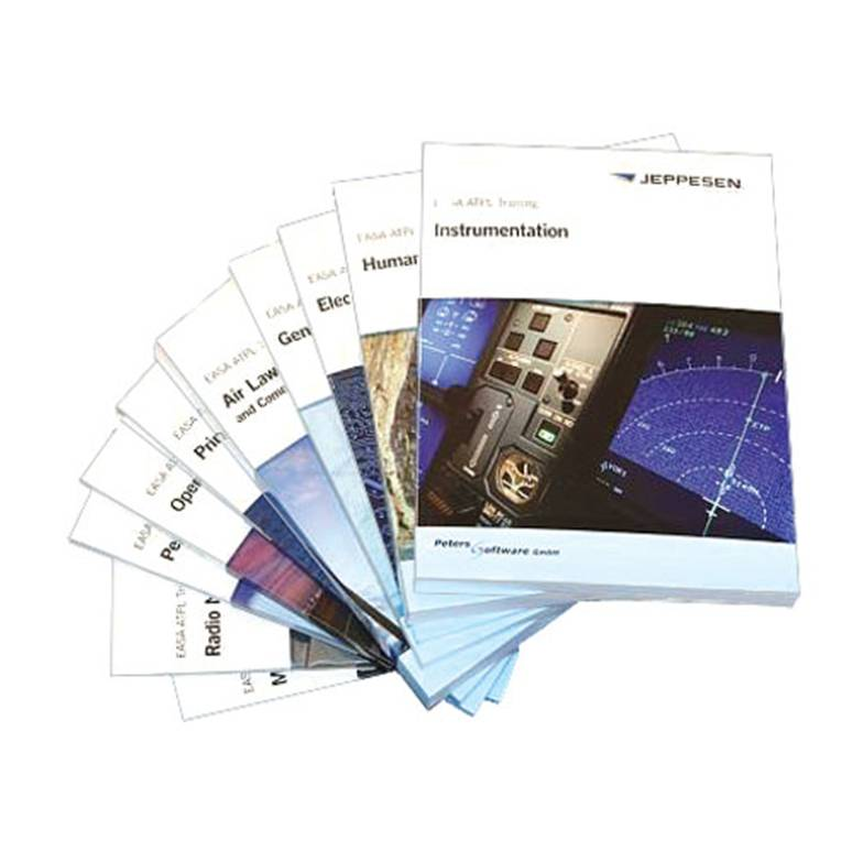 Jeppesen EASA ATPL Aircraft Course Manuals - complete set | CrewLounge Shop  by Flyinsite