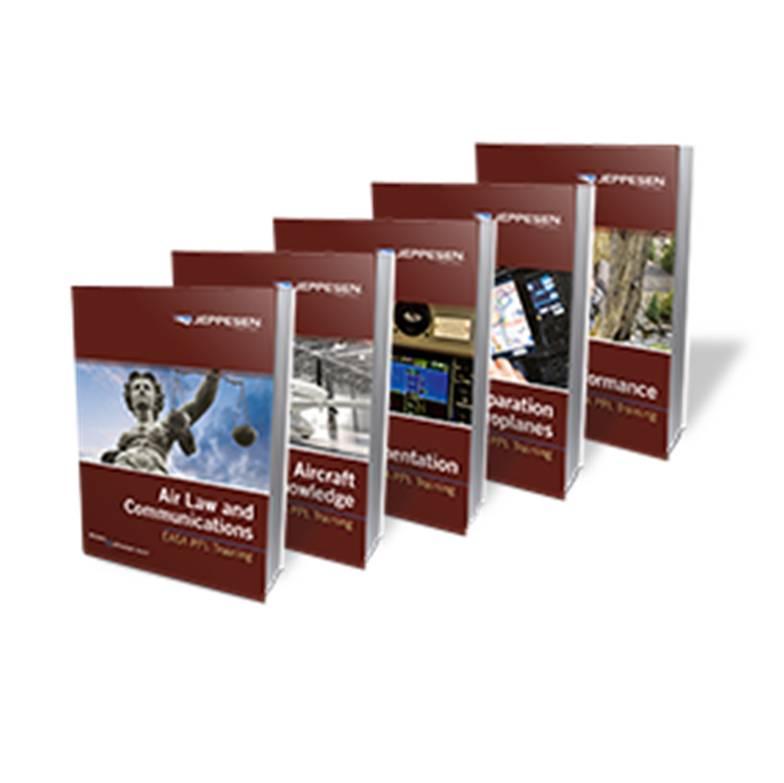 42d0a032c85 Jeppesen EASA PPL Aircraft Course Manuals - complete set ...