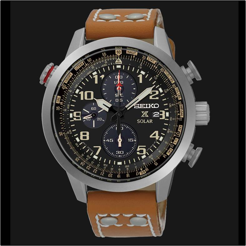 watches chronograph gents seiko buy flight watch master