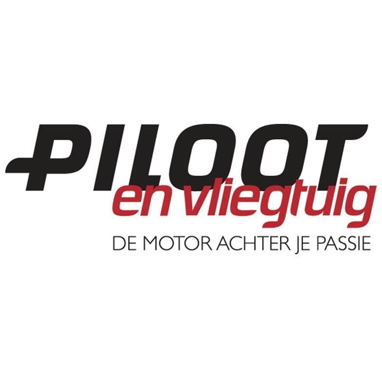 Piloot en Vliegtuig - logo