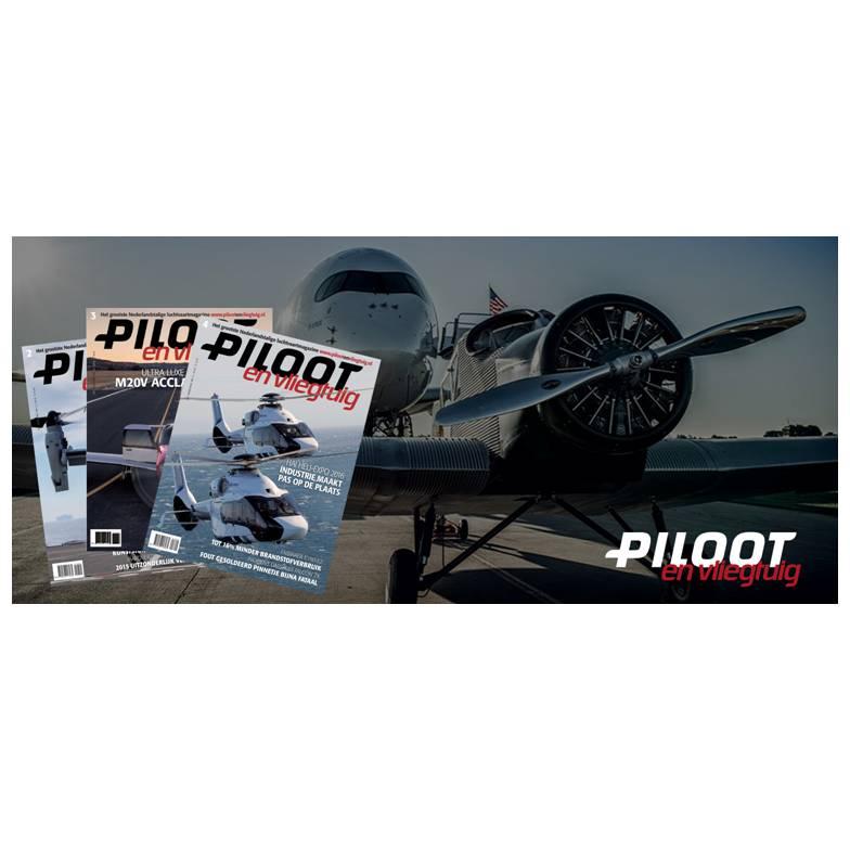 Piloot en Vliegtuig - edities