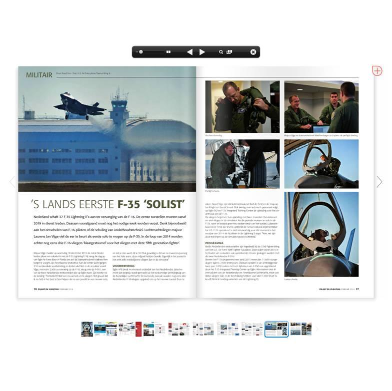 Piloot en Vliegtuig - voorbeeldartikel