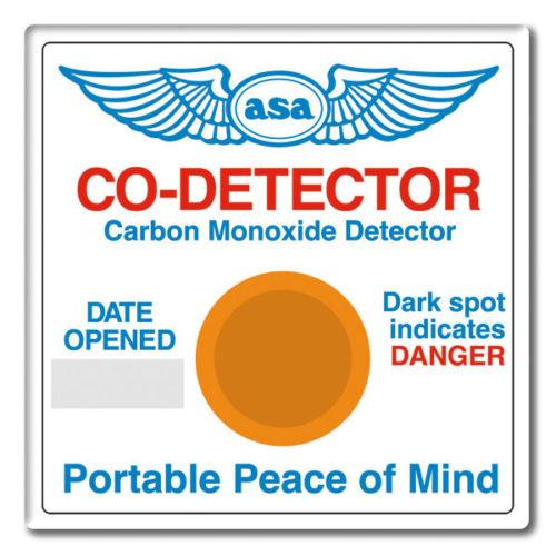 asa carbon monoxide detector - flyinsite pilot shop